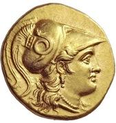 Stater - Seleukos I (Babylon) – obverse