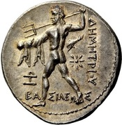 Tetradrachm - Demetrios I Poliorketes (Pella) – reverse