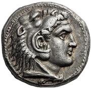 Tetradrachm - Alexander III (Paphos) – obverse