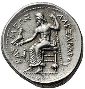 Tetradrachm - Alexander III (Uncertain Macedonian mint) – reverse