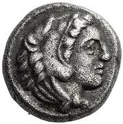 Hemidrachm - Alexander III (Amphipolis or Aegea) – obverse