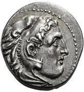 Drachm - Alexander III (Sardes) – obverse