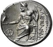 Drachm - Alexander III (Sardes) – reverse