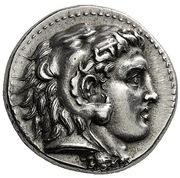 Tetradrachm - Alexander III (Memphis) – obverse