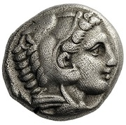 Drachm - Alexander III the Great (Amphipolis) – obverse