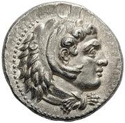 Tetradrachm - Alexander III (Babylon) – obverse