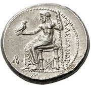Tetradrachm - Alexander III (Babylon) – reverse