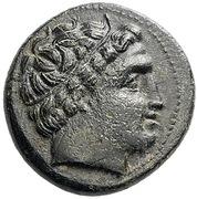 Bronze Æ18 - Philip III Arrhidaios (Miletos) – obverse