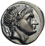 Tetradrachm - Demetrios I Poliorketes (Amphipolis) – obverse