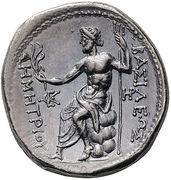 Tetradrachm - Demetrios I Poliorketes (Amphipolis) – reverse