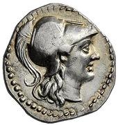 Drachm - Alexander III (Marathos) – obverse