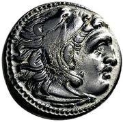 Bronze Æ18 - Alexander III (Uncertain Asia Minor mint) – obverse