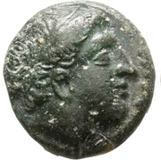 Bronze Æ16 - Philip II – obverse