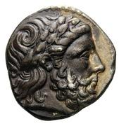 Tetradrachm - Philip II (Amphipolis) – obverse