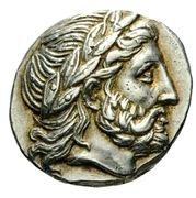 Tetradrachm - Philip III (Amphipolis) – obverse