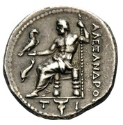 Tetradrachm - Alexander III (Uncertain mint in Greece or Macedon) – reverse