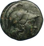Dichalque d'Antigone II Gonatas – obverse