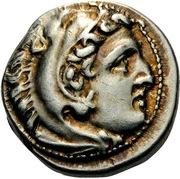Drachm - Alexander III (Teos) – obverse