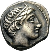 1/5 Tetradrachm - Philip III Arrhidaios (Amphipolis) – obverse