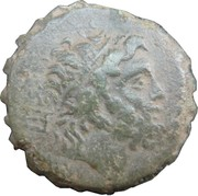 Hemiobol - Perseus (Amphipolis) – obverse