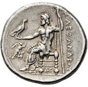 Tetradrachm - Alexander III (Corinth) – reverse