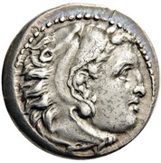 Drachm - Alexander III (Magnesia) – obverse