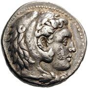 Tetradrachm - Philip III Arrhidaios (Babylon) – obverse