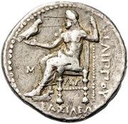 Tetradrachm - Philip III Arrhidaios (Babylon) – reverse