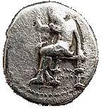 Drachm - Babylon - 328- 311 BC - Successors to Alexander – obverse