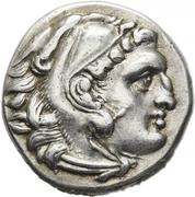 Drachm - Alexander III (Lampsakos) – obverse