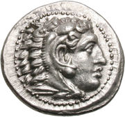 Drachm - Alexander III the Great – obverse