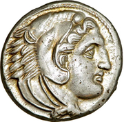 Tetradrachm - Alexander III the Great – obverse
