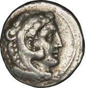 Tetradrachm - Alexander III the Great (Myriandros) – obverse
