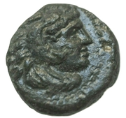 Alexander III Æ11 – obverse