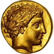 Stater - Philip III – obverse