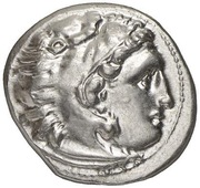 Drachm - Alexander III (Kolophon) – obverse