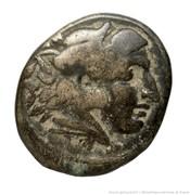Tetrachalkon - Amyntas III (Aigai or Pella mint) – obverse