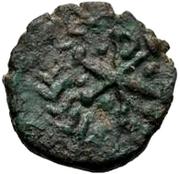 1 Nummus - Gunthamund (Carthage; regular Chi Rho with dots) – reverse