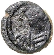 1 Nummus - Hilderic / In the name of Justinian I, 527-565 (Carthage) – obverse