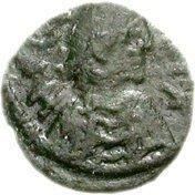 1 Nummus - Hilderic (Carthage) – obverse