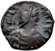 1 Nummus - Gelimer (Carthage) – obverse