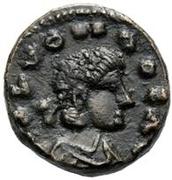 2½ Nummi - Huneric (Carthage) – obverse
