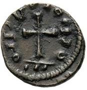 2½ Nummi - Huneric (Carthage) – reverse