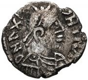 25 Denarii - Gunthamund (Carthage; regular value with line) – obverse