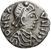 25 Denarii - Gunthamund (Carthage; regular value without line) – obverse
