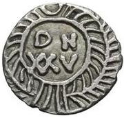25 Denarii - Gunthamund (Carthage; regular value without line) – reverse