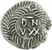 25 Denarii - Gunthamund (Carthage; reversed value) – reverse