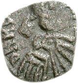 25 Denarii - Thrasamund (Carthage; 50 Denarii die) – obverse