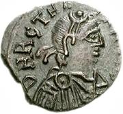50 Denarii - Thrasamund (Carthage; with value) – obverse