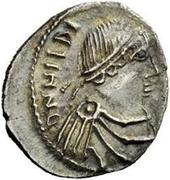 50 Denarii - Hilderic (Carthage) – obverse